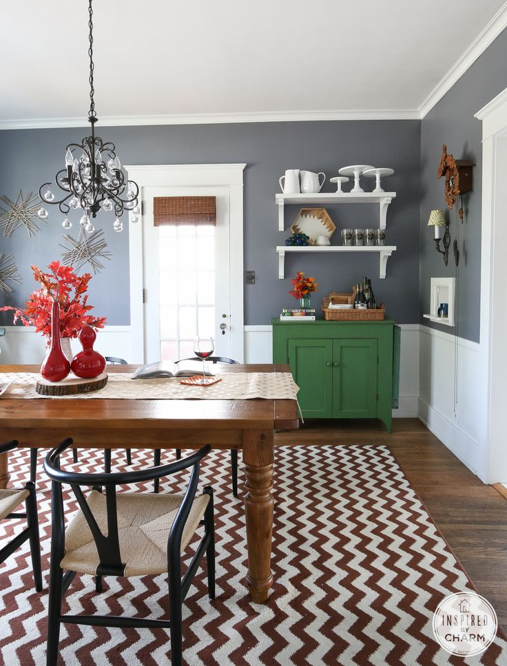 warm up your home with fall colors