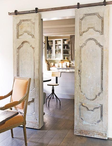 Traditional-Home-Repurposed-Antique-Doors